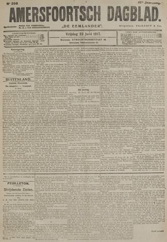 Amersfoortsch Dagblad / De Eemlander 1917-06-22