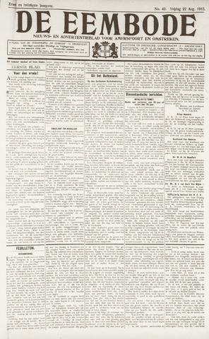 De Eembode 1913-08-22