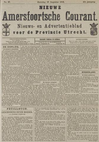 Nieuwe Amersfoortsche Courant 1916-08-19