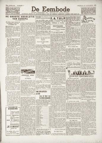De Eembode 1939-10-27