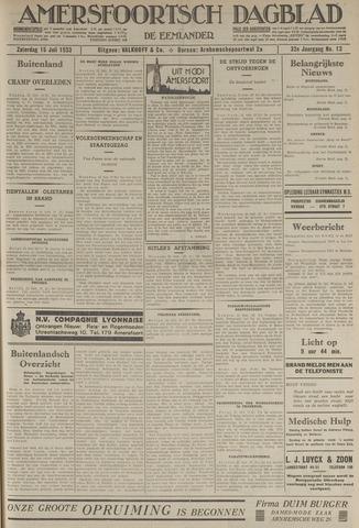 Amersfoortsch Dagblad / De Eemlander 1933-07-15