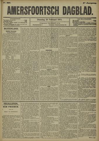 Amersfoortsch Dagblad 1905-02-28