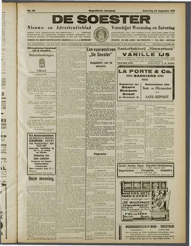 De Soester 1931-08-22
