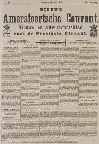 Nieuwe Amersfoortsche Courant 1912-07-27