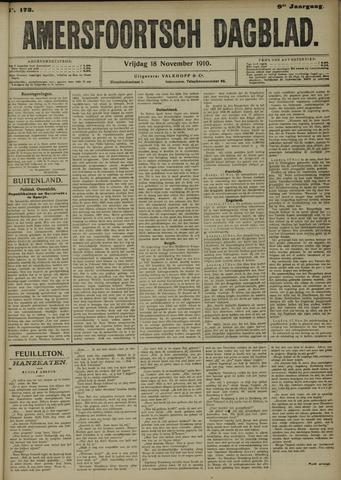 Amersfoortsch Dagblad 1910-11-18