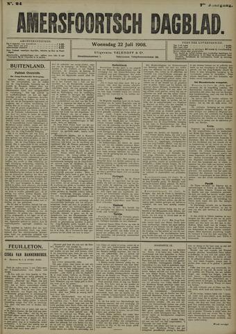 Amersfoortsch Dagblad 1908-07-22