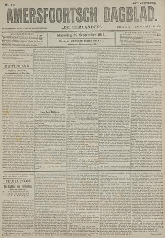 Amersfoortsch Dagblad / De Eemlander 1913-09-29
