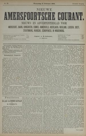 Nieuwe Amersfoortsche Courant 1884-02-27
