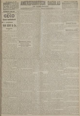 Amersfoortsch Dagblad / De Eemlander 1918-08-10