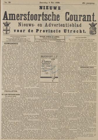 Nieuwe Amersfoortsche Courant 1920-05-08
