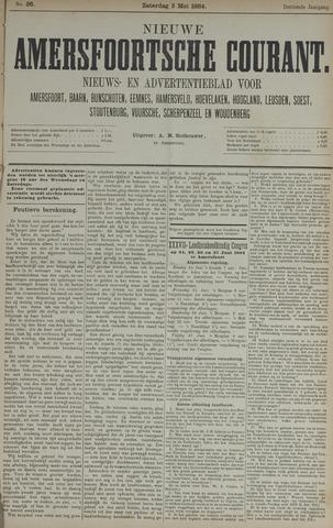 Nieuwe Amersfoortsche Courant 1884-05-03