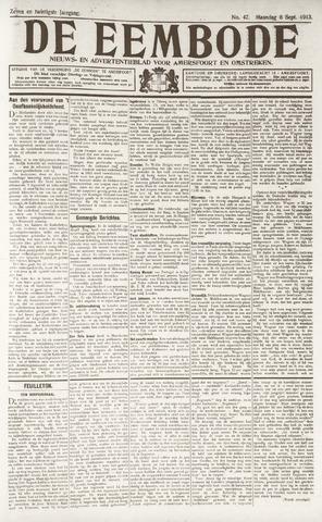 De Eembode 1913-09-08