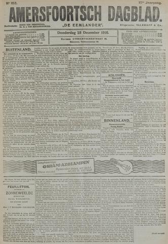 Amersfoortsch Dagblad / De Eemlander 1916-12-28