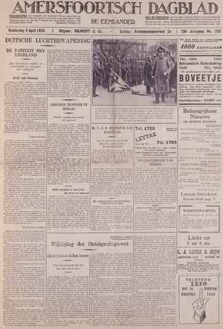 Amersfoortsch Dagblad / De Eemlander 1935-04-04