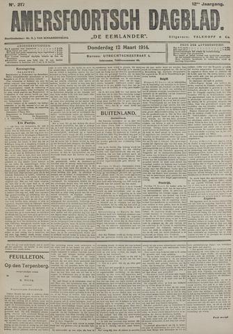 Amersfoortsch Dagblad / De Eemlander 1914-03-12