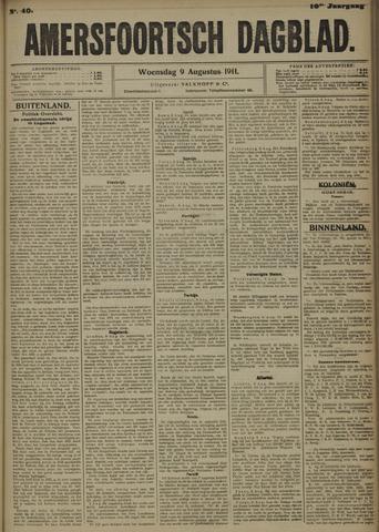 Amersfoortsch Dagblad 1911-08-09