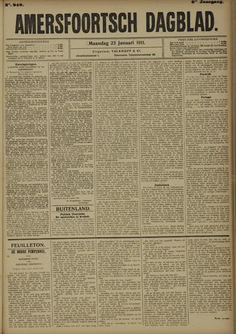Amersfoortsch Dagblad 1911-01-23