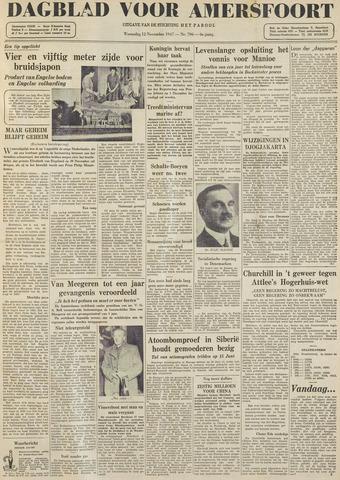 Dagblad voor Amersfoort 1947-11-12