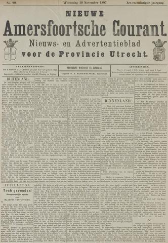 Nieuwe Amersfoortsche Courant 1897-11-10