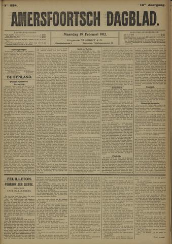 Amersfoortsch Dagblad 1912-02-19