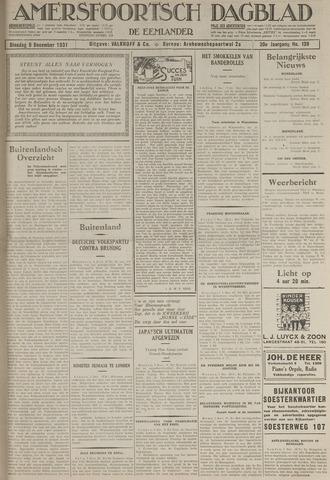 Amersfoortsch Dagblad / De Eemlander 1931-12-08