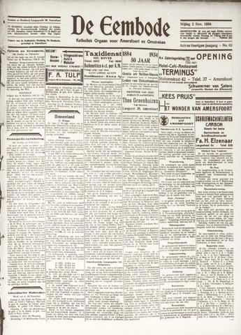 De Eembode 1934-11-02
