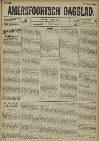 Amersfoortsch Dagblad 1907-06-25
