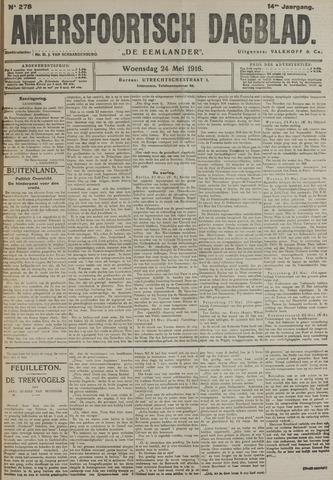 Amersfoortsch Dagblad / De Eemlander 1916-05-24