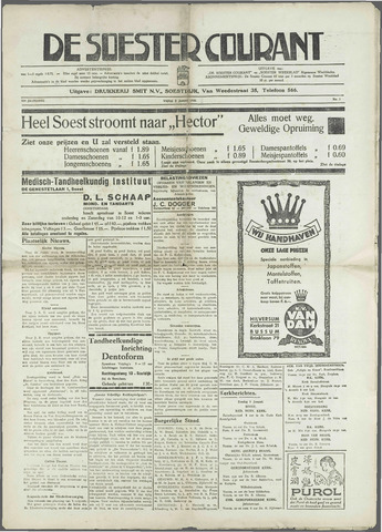 Soester Courant 1936