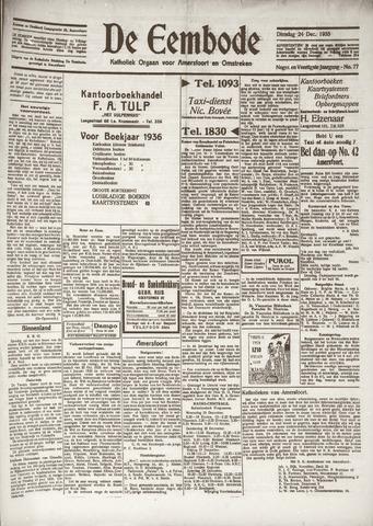 De Eembode 1935-12-24