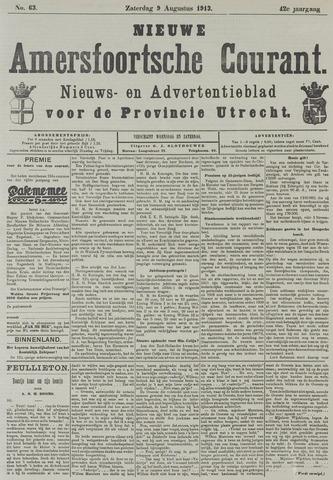 Nieuwe Amersfoortsche Courant 1913-08-09