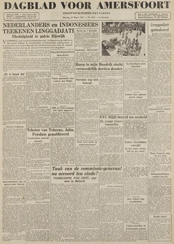 Dagblad voor Amersfoort 1947-03-25