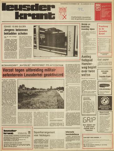 Leusder Krant 1981-11-26