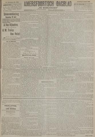 Amersfoortsch Dagblad / De Eemlander 1919-04-08