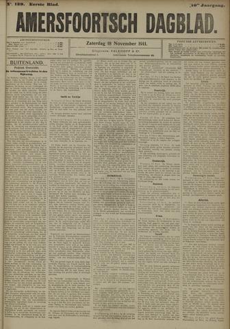 Amersfoortsch Dagblad 1911-11-18