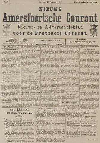 Nieuwe Amersfoortsche Courant 1905-10-28