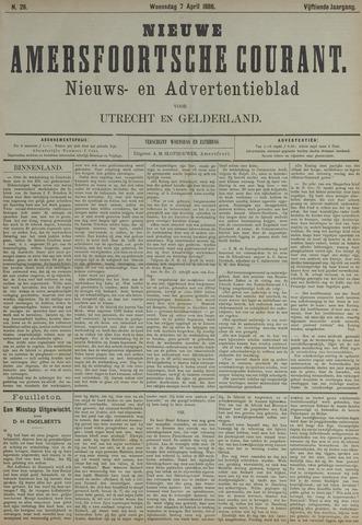 Nieuwe Amersfoortsche Courant 1886-04-07