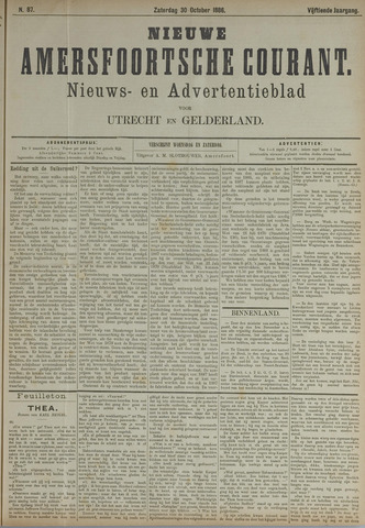 Nieuwe Amersfoortsche Courant 1886-10-30