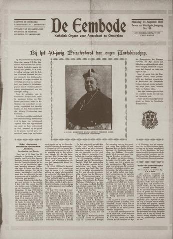 De Eembode 1933-08-14