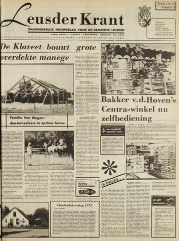 Leusder Krant 1971-09-09