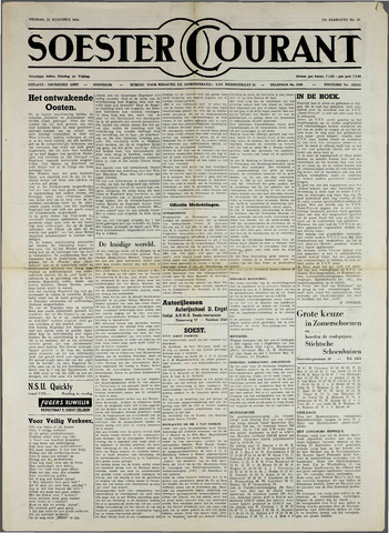 Soester Courant 1954-08-13