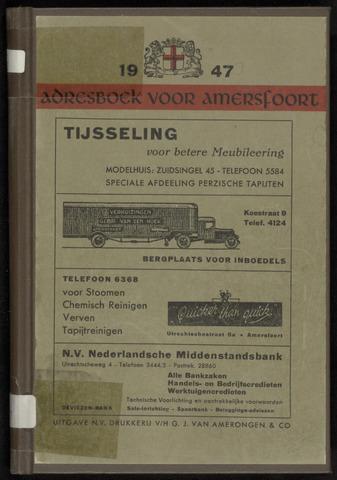 Adresboeken Amersfoort 1947