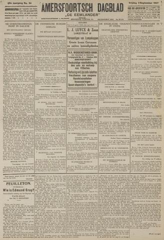 Amersfoortsch Dagblad / De Eemlander 1927-09-02
