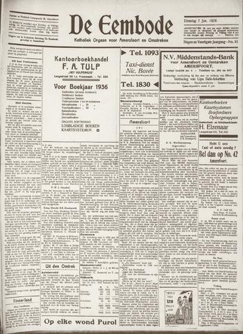De Eembode 1936-01-07
