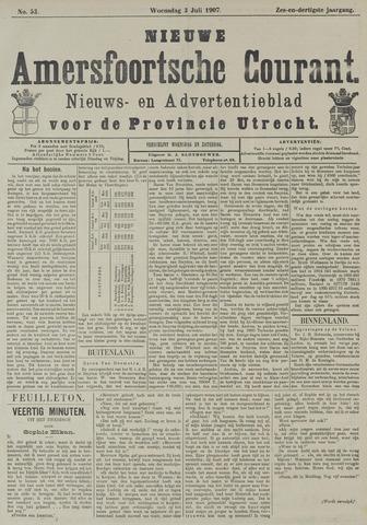 Nieuwe Amersfoortsche Courant 1907-07-03