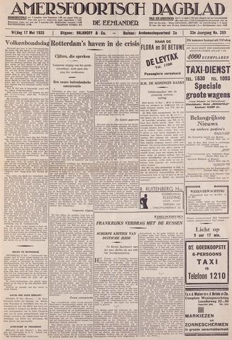 Amersfoortsch Dagblad / De Eemlander 1935-05-17