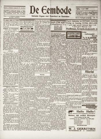 De Eembode 1932-06-03