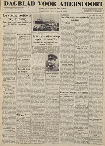 Dagblad voor Amersfoort 1946-10-29