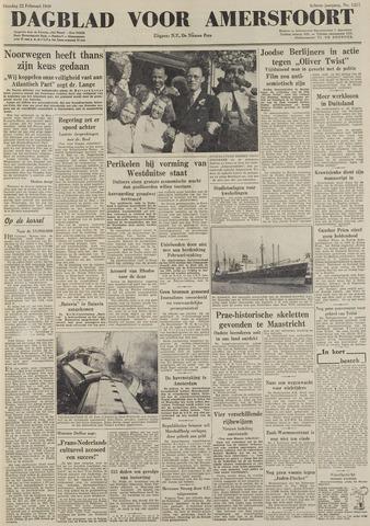 Dagblad voor Amersfoort 1949-02-22
