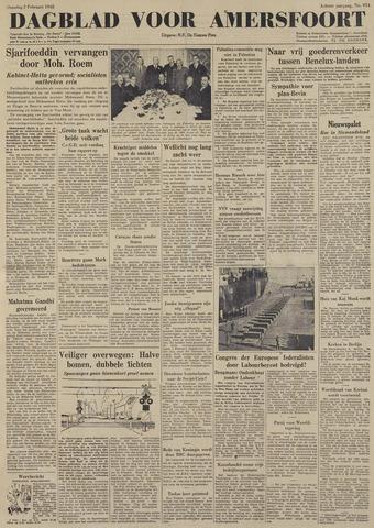 Dagblad voor Amersfoort 1948-02-02